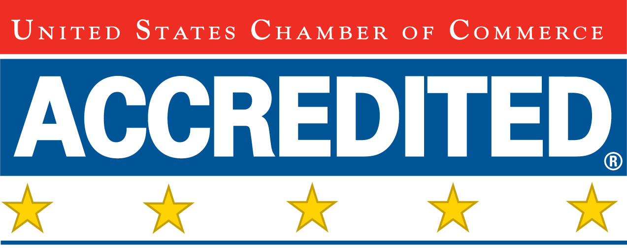 Accredited US Chamber of Commerce